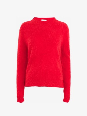 JOIE SWEATER - HIGH RISK RED