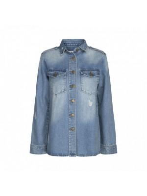 Sofie Schnoor shirt - Denim blue