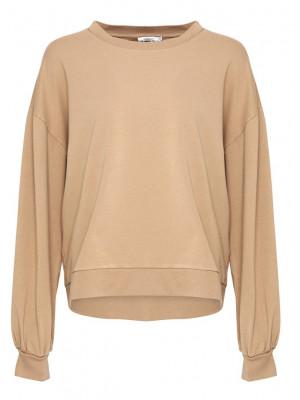 Noella Tatum Sweatshirt Cotton Camel