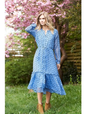 Anastacia Dress - Flower Print