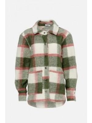 Noella Viksa Jacket Wool Green/rose
