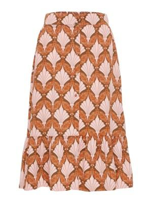 Y.A.S - Gabrielle HW Midi Skirt