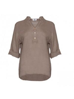 Tiffany Hørskjorte 17661 Nougat