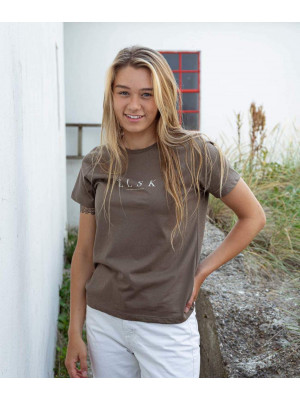 11005 | ELSK® PURE WOMEN'S ESSENTIAL TEE | OLIVE OIL