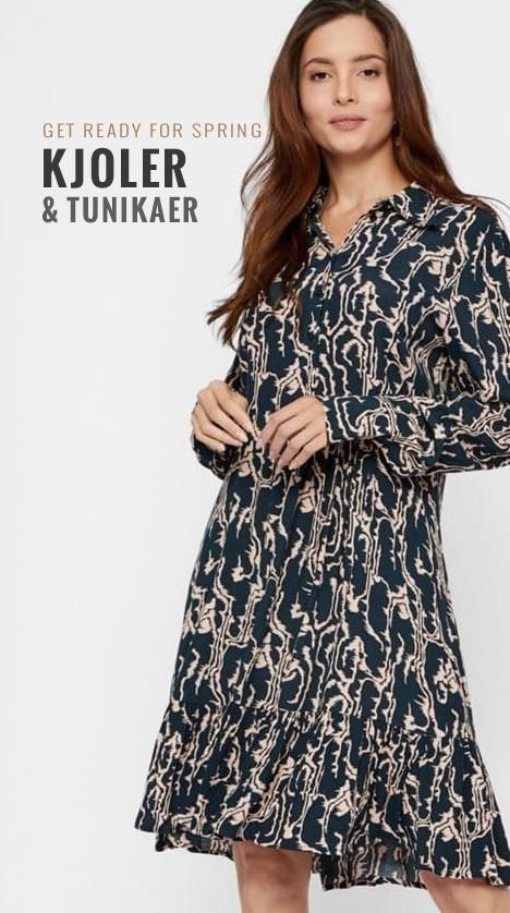 Se vores udvalg af kjoler og tunikaer