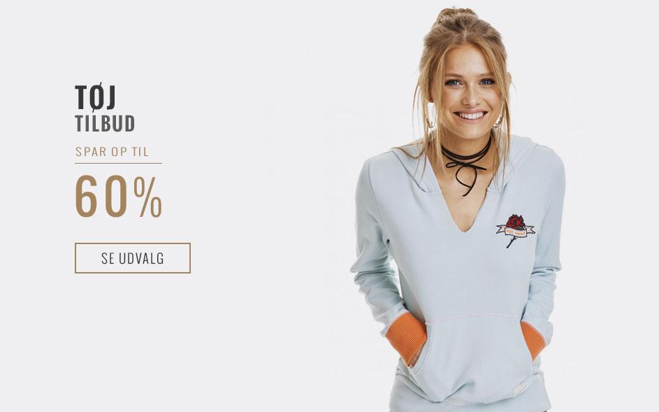 Tilbud på tøj - SPAR op til 60%